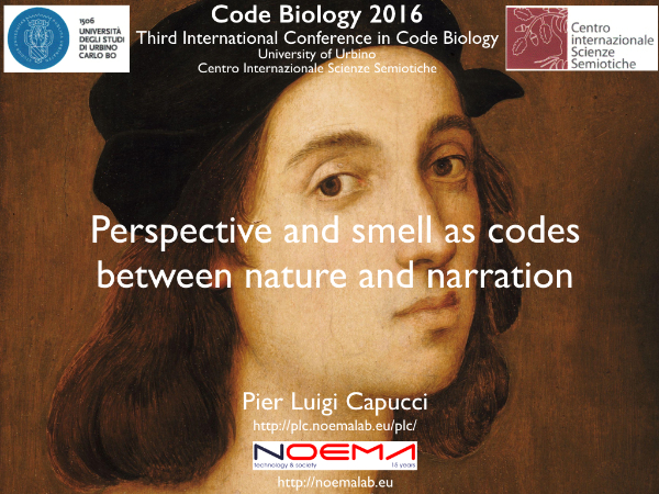 Perspective and smell as codes between nature and narration