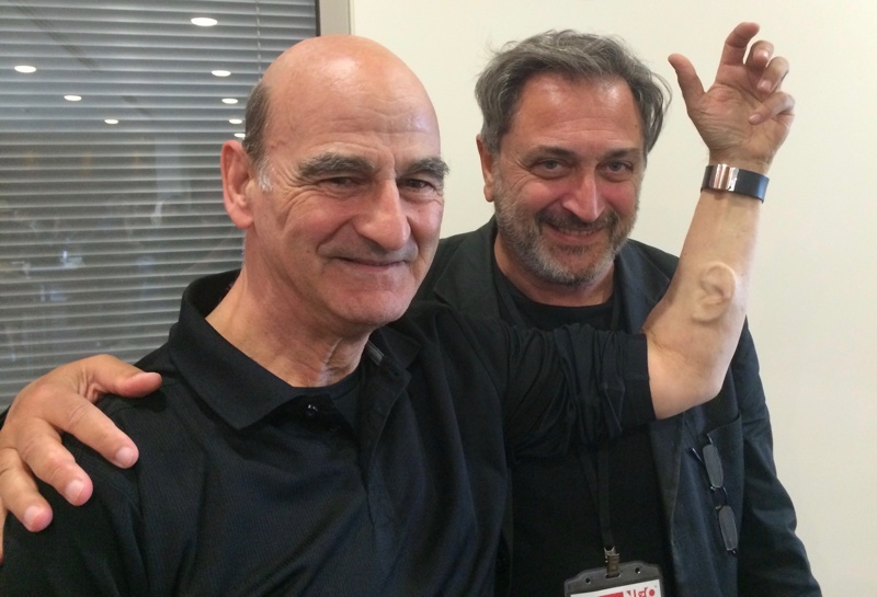 With a very particular old friend of mine, Stelarc