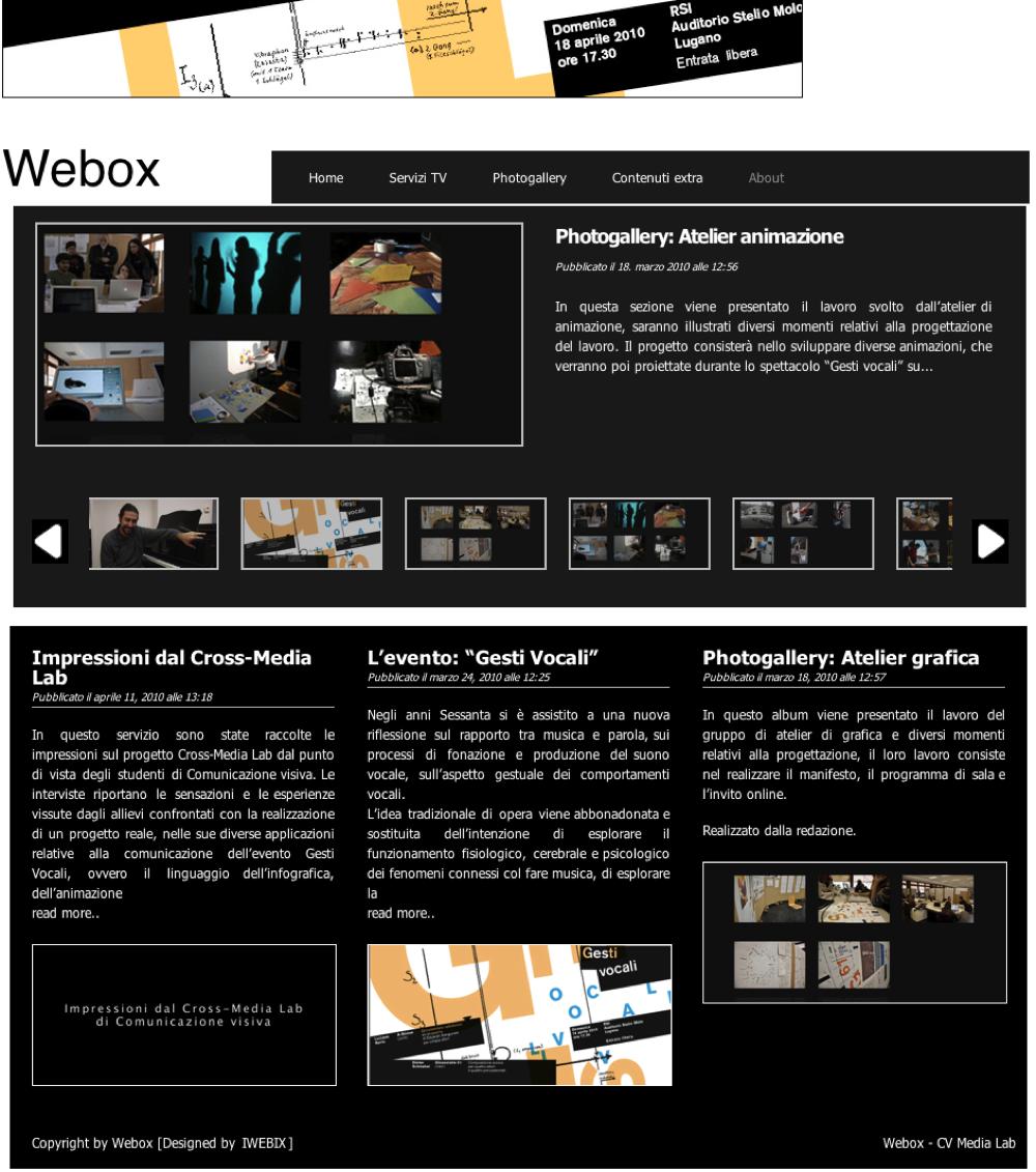 Webox_website