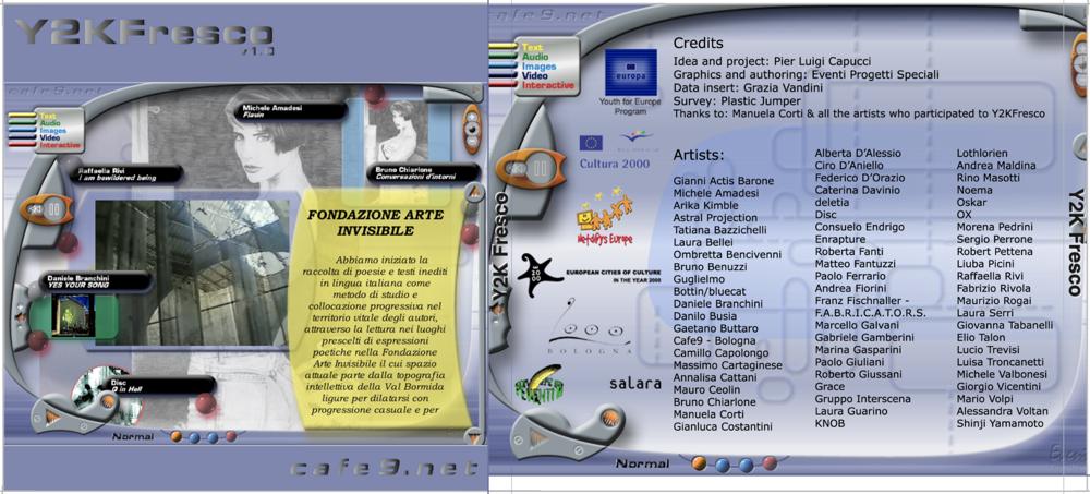 La copertina del CD-ROM