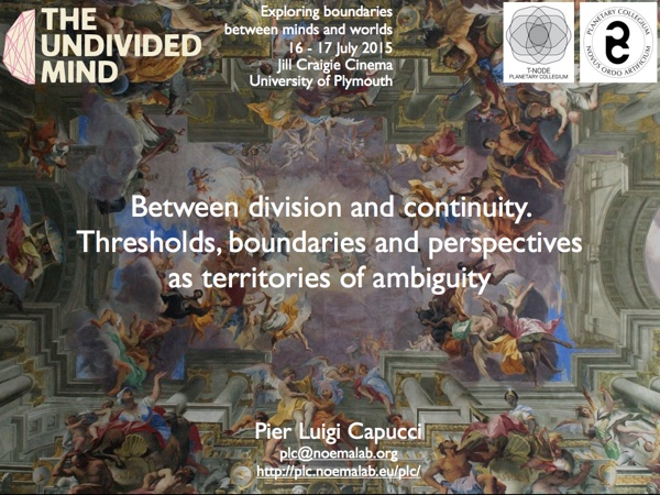 T-Node PhD Summer Session 2015 + The Undivided Mind Symposium