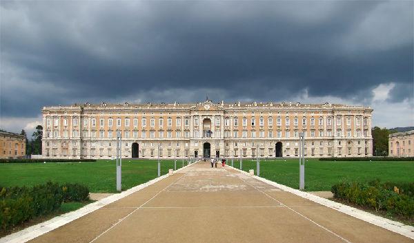 In visita alla Reggia di Caserta / Visiting the Royal Palace of Caserta