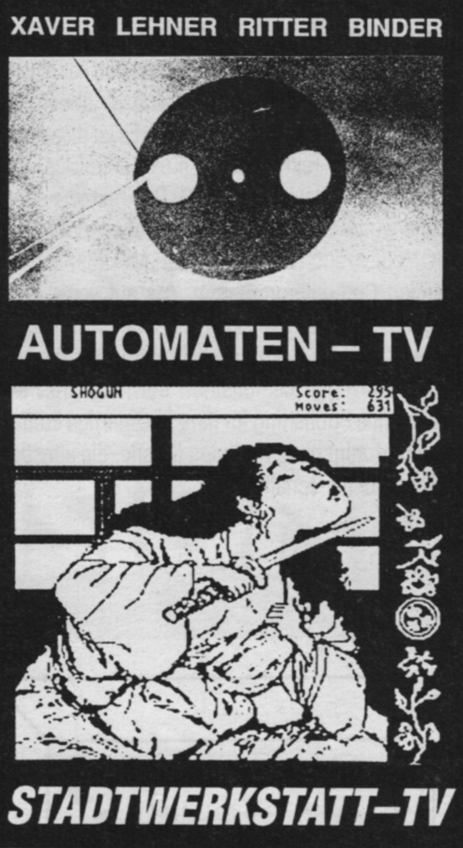 Stadtwerkstatt TV Automaten TV