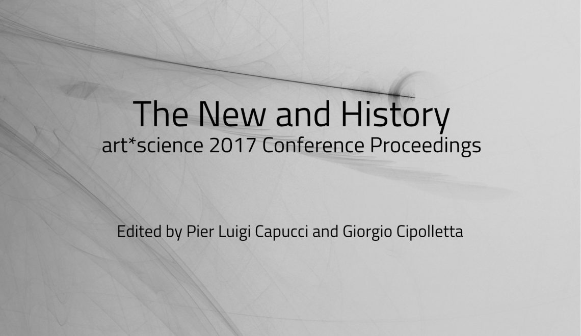 art*science 2017/Leonardo 50 – The New and History –  Proceedings