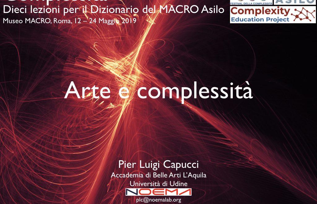 Arte e complessità / Art and Complexity